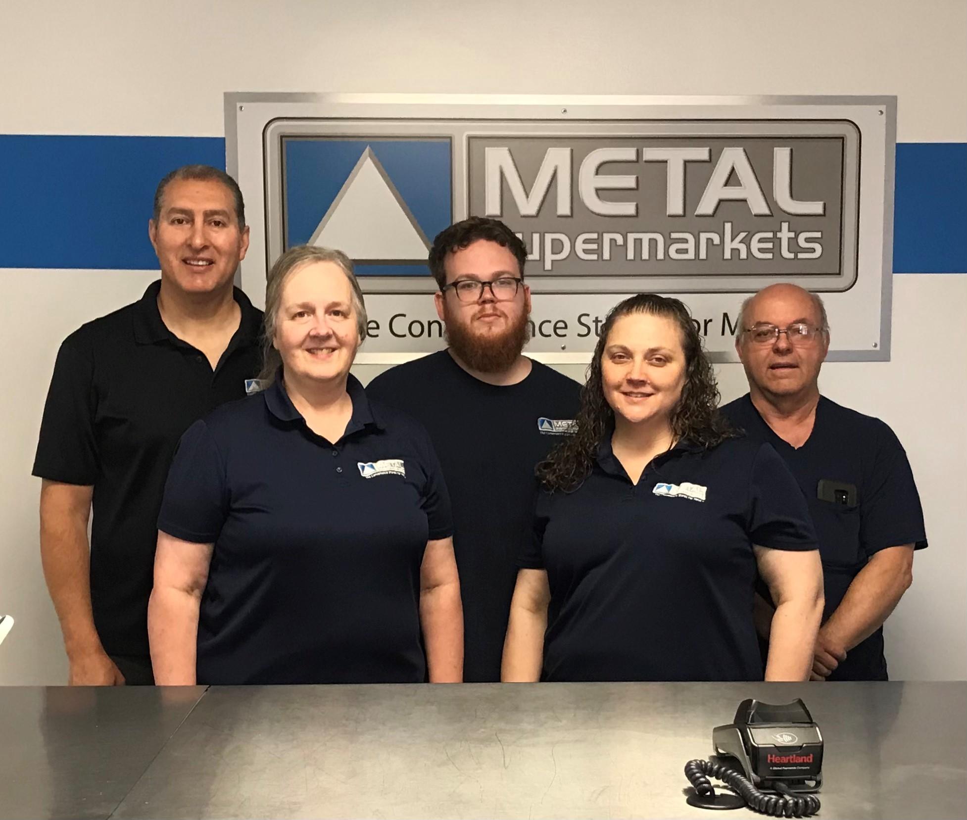 Metal Supermarkets Dayton - Team