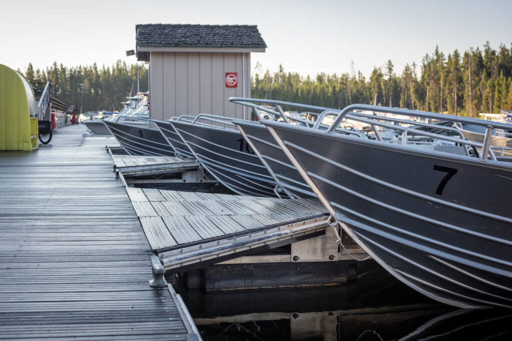 Floating Metal Dock